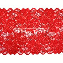 Two Tones Elastic Nylon Spandex 2012 New Design Trim For Lingerie