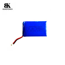 High quantity 7.4v rechargeable lithium polymer battery pack hot sale for portable digital product, GPS, etc.