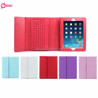 For iPad 2 3 4 Folio Leather Case Stand With Keyboard Wireless Keyboard