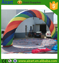 cheap used inflatable rainbow arches rental inflatable advertising finish line arch