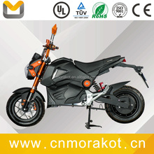 High speed powerful 72V 2000W big motor electric scooter/electric motorcycle without pedals --- M3