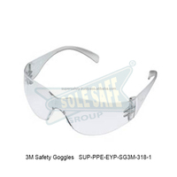 3M Safety Goggles ( SUP-PPE-EYP-SG3M-318-1 )