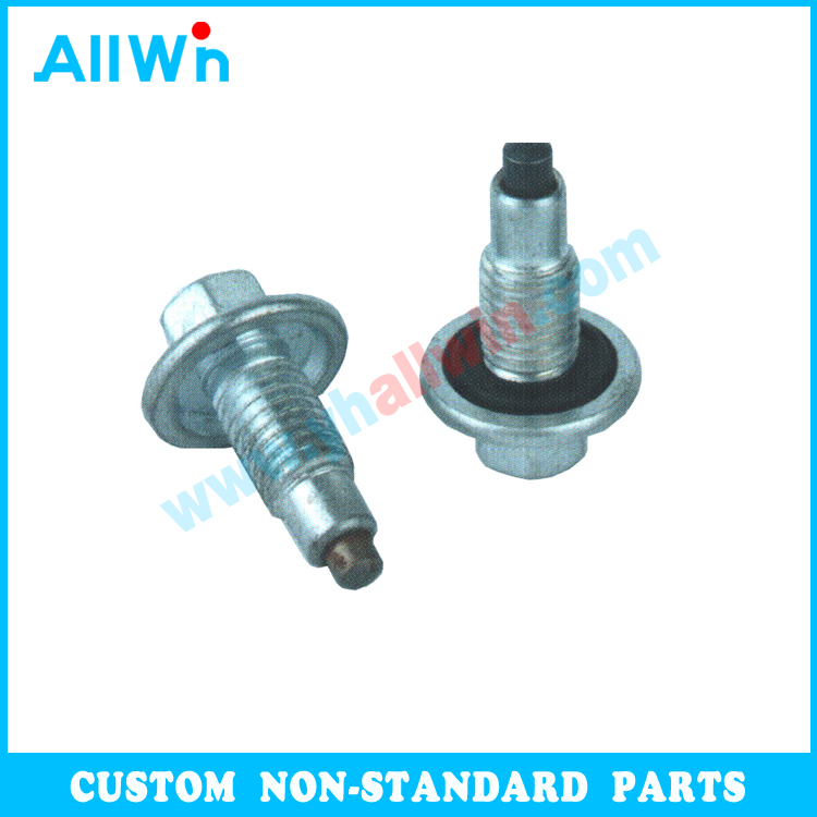 Nonstandard Customized High Quality Carbon Steel Magnetic bolts