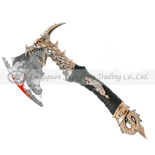 Dragon axe Decorative knife Fancy table decorations Office tabke decoration