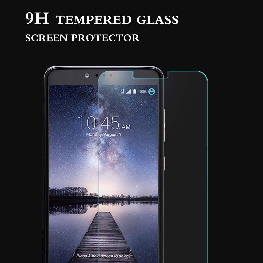 New premium anti scratch tempered glass screen protector for ZTE ZMAX Pro with wholesale price for ZTE accessory screen guard