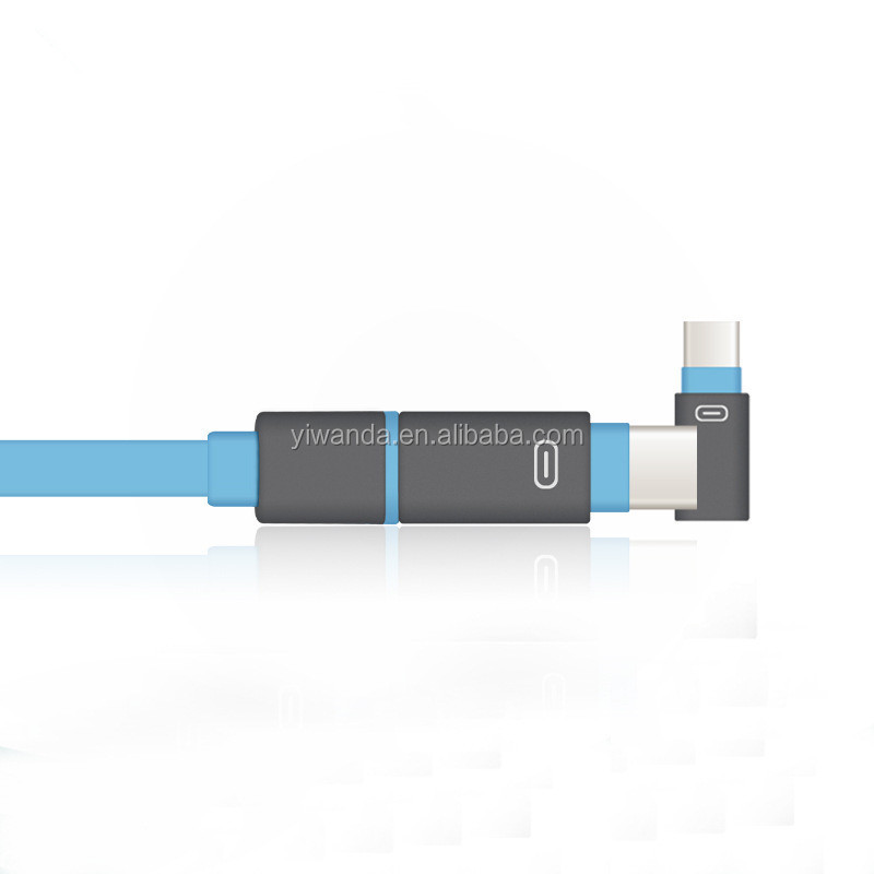 Flat Computer Data USB Cable 2 in 1 USB Cable Made in China
