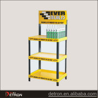 OEM high quality plastic floor display stand