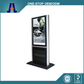 free standing touch screen display kiosk machine