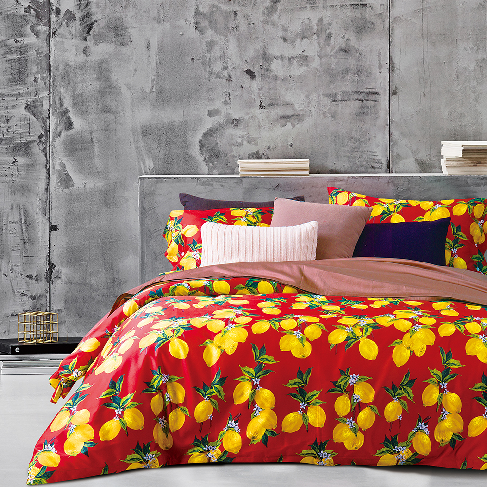 KOSMOS modern design luxury embroidery bed cover mandala duvet cover