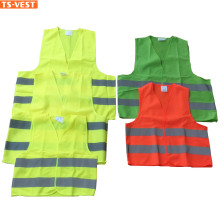 EN ISO 20471 High visibility Hi Vis 120gsm Reflective Safety Vest As Customed