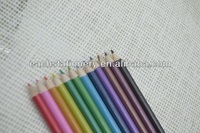 High Quality 7'' Pearly HB Colour Lead Pencil basswood Standard Pencil