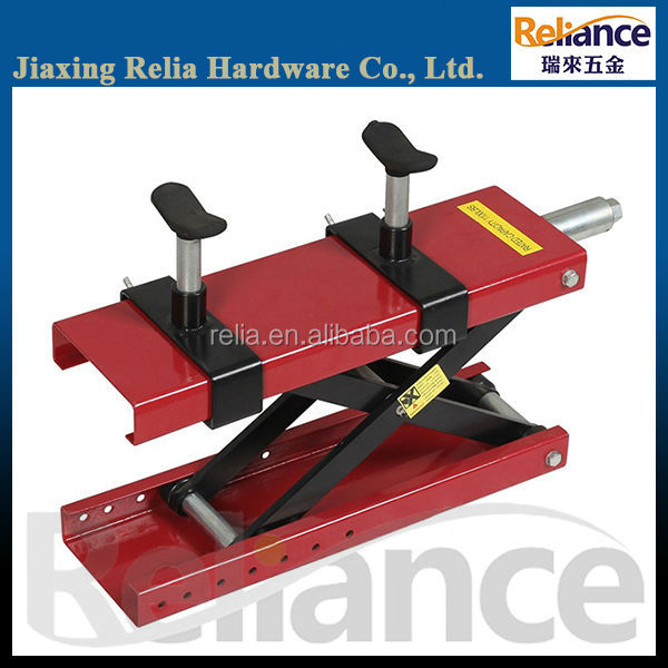 Motorcycle Hydraulic Single Scissor Lift, Dirt Bike Repair Stand