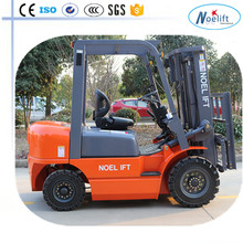 shoe machinery Hydraulic automatic fork lift 2.5T diesel forklift with automatic transmission and solid tires
