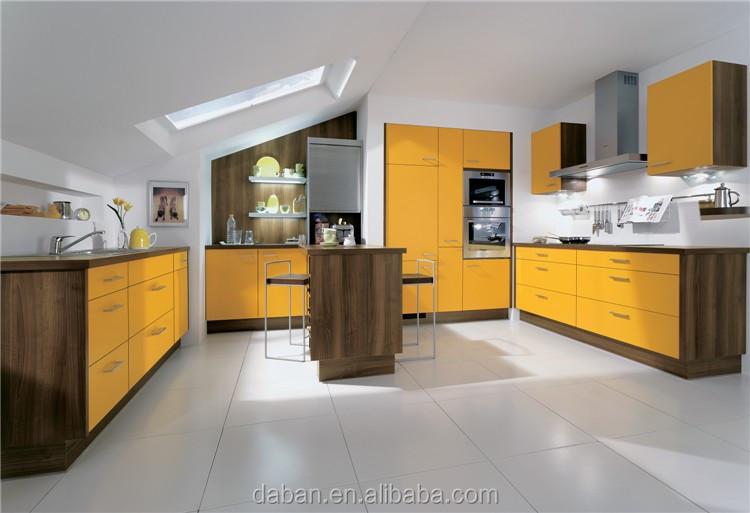 Orange Kitchen Cabinet Combination Kitchen Cabinet Colors Mdf Kitchen