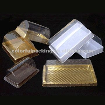 clear cupcake folding boxes ,clear plastic lid boxes ,PET plastic boxes
