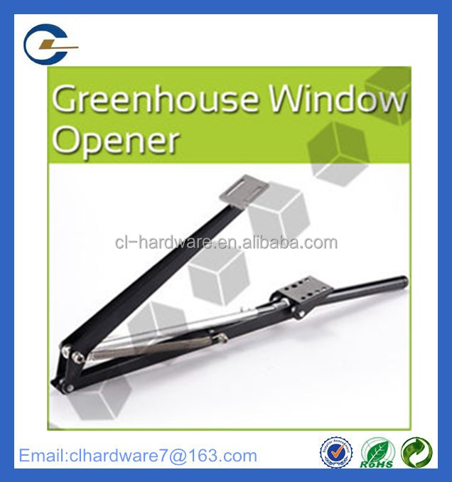 Best selling double hung greenhouse motorized automatic window opener