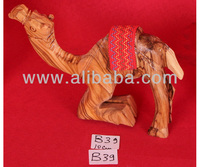 Nativity Wooden Camel On the knees B39 10cm
