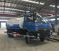 China new left hand drive cummins engine 15 ton water truck water bowser truck