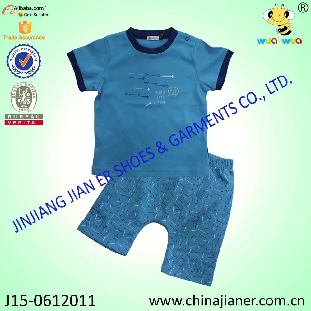 Software Children clothes for Sport and Sleeping Casual Short Sleeve Clothing Set