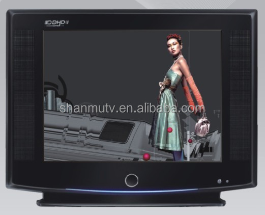 21''inch ULTRA SLIM pure flat crt tv