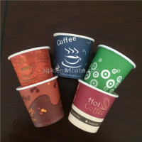 promotion pen with roll out paper disposable 8oz hot coffee paper cups / 8oz hot coffee paper cups