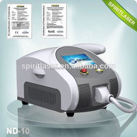 Best China hot sale!! Super Fast Color Touch Screen Ndyag laser machine for tattoo/eyeline/eyebrow remover 10HZ