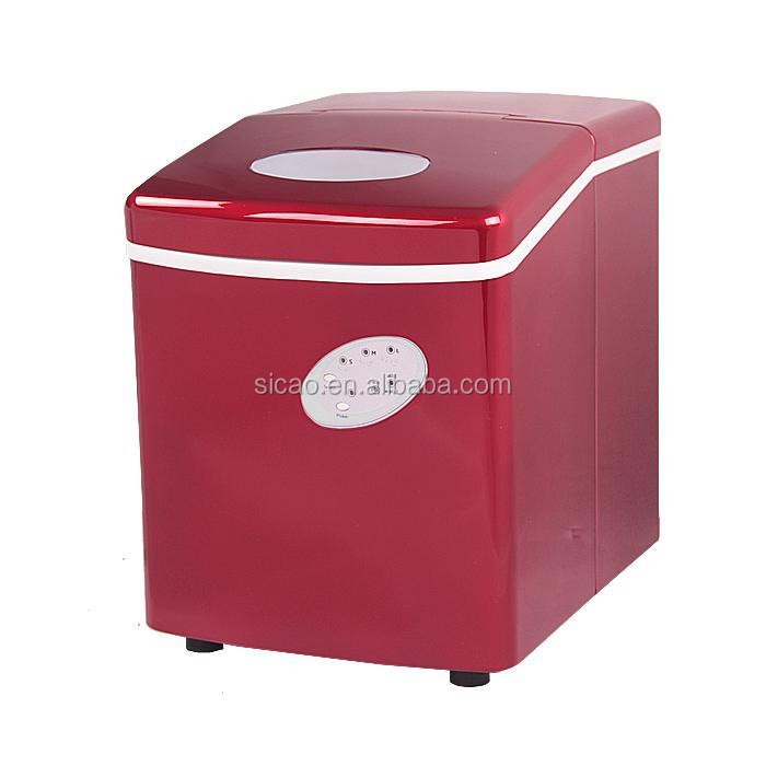 0.7kgs Store Capacity 242*358*328mm home ice maker with compressor cooling system