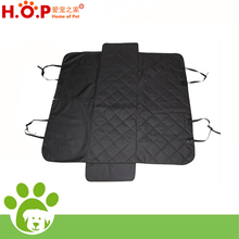 Non Slip Waterproof Side Flaps & Hammock front Zipper Design Pet Travel Seat Cover Hammock Car Back Seat Protector