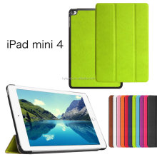 PU Leather Magnetic Folding Sleeping Case front Smart Cover for Apple iPad mini4 Tablet Cases