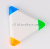 triangle shape gift highlighters