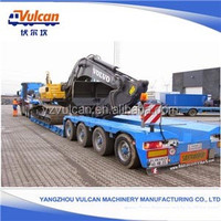 Manufactur Popular Trailers Heavy Duty Lowbed Semi Trailer with Best Price(Customized)