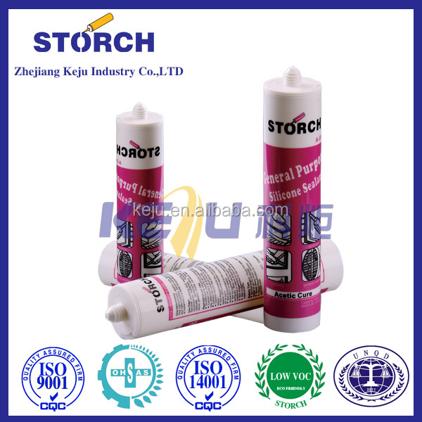 Storch A570 structural use aquarium white acetic glass universal silicone sealant