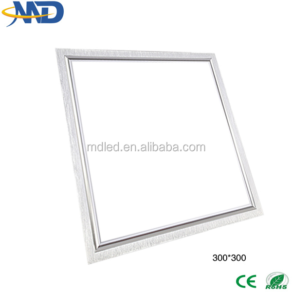 24w 2835 SMD led panel light 30*30cm 90-277V 3 years warranty led light panel zhongtian