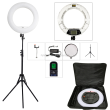 FE-480II 5500K 480LED Lights Photo Studio LED Ring Light lamp+ bag for Photographic Light