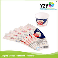 2016 customized Best quality in mold label, iml film, iml paper for Plastic Cup china supplier