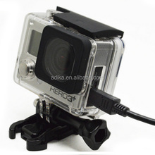 Used For Go pro Skeleton Housing, for Heros 3+ Skeleton Protective Housing Open Side &backdoor for go pro accessories GP241