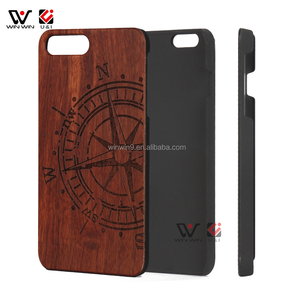 Real Wood Factory Eco Friendly Personalized Wooden Cell Phone Case For iPhone 8 , Wooden Case <strong>accessories</strong>