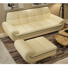 Modern design asian hotel lobby large sectional sofa set