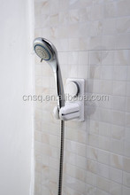 1038 SQ small plastic wall mounted suction cup bathroom shower accessories head holder