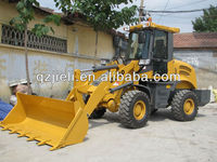 1.6tons mini garden tractor loader with price