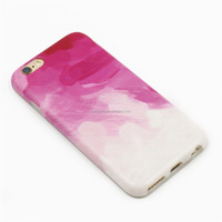 Oil Painting IMD Phone Case Full Coating Soft TPU Phone Case IMD for iPhone 6 6s