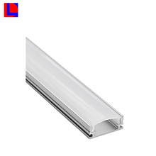 OEM environmentl friendly high thermal conductivity sliver anodized 6000series linear extrusions led lighting aluminum profile