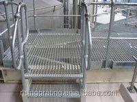 galvanized low carbon steel stair treads
