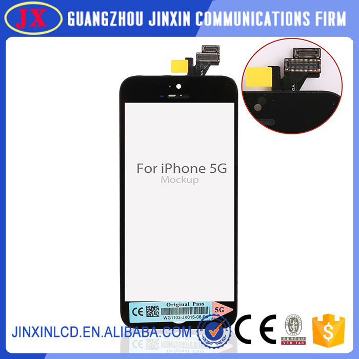 LCD Lens Touch Screen lcd Display Digitizer Assembly Replacement For Iphone 5 5S 5C