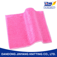 hot sale good quality bamboo fiber dish cleaning cloth