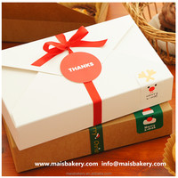 Food grade paper cake box cookie box gift box