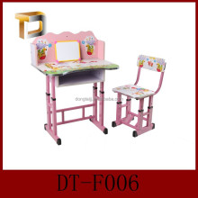 DT-F006 Ergonomic size kids study table and desk