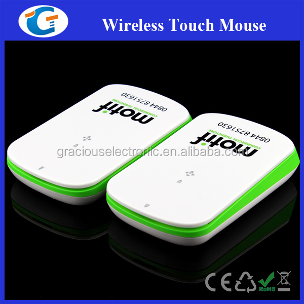 2.4GHZ Customize Wireless Touch Mouse For Business Gifts