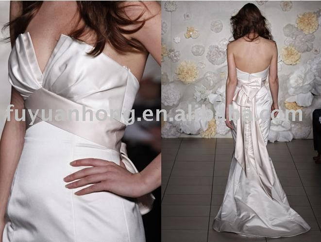 2010 new style wedding gown /FYH-WD00329