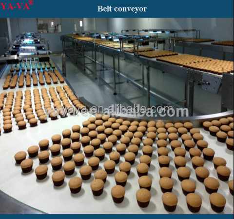 Food Grade Belt Conveyor Machinery/Conveyor belt for Material Handling